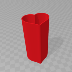 Descargar modelos 3D para imprimir Caja corazón, Spyn3D