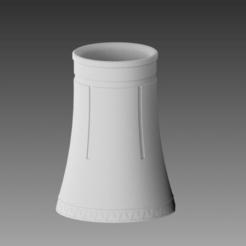 planta nuclear-10.png Télécharger fichier STL TOUR / BASE NUCLÉAIRE • Modèle à imprimer en 3D, Spyn3D