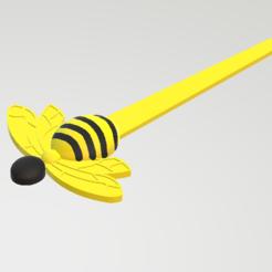 STL Bee marker bee, Spyn3D
