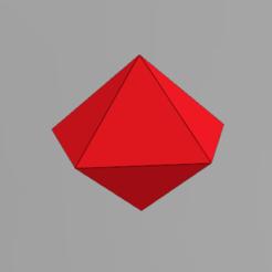 Imprimir en 3D gratis Poliedro 10 lados, Spyn3D