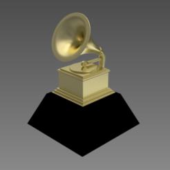 Descargar modelo 3D GRAMMY PREMIO TROFEO, Spyn3D