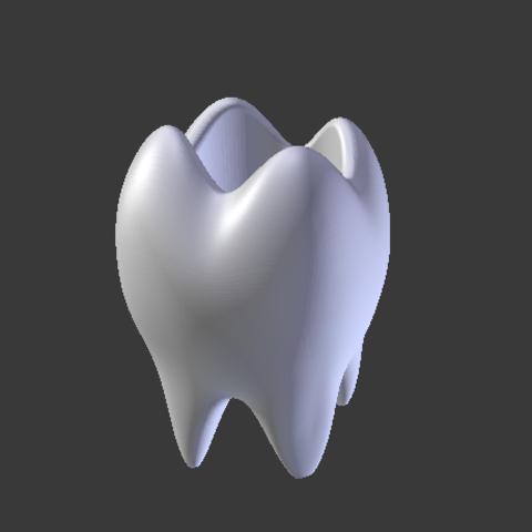 Fichier impression 3D Vase à bocal dentaire, Spyn3D