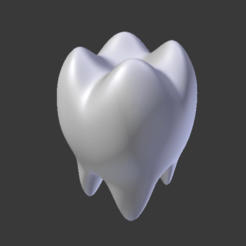 Download STL TOOTH, TOOTH , MOLAR, Spyn3D