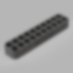 Diseños 3D Almacenamiento de pilas AAA - LR03 - 20 Pilas, GGLinnk