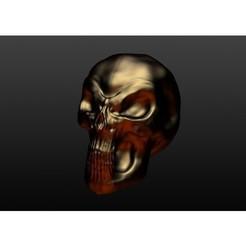 stl files Skull, YellowJacket