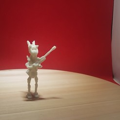 3D print model ROBO RED, josefbouzgarrou