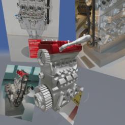 image20.png Télécharger fichier OBJ moteur de la ferrari 134 • Design pour imprimante 3D, Josefbouzgarrou