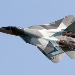 3d printer files Sukhoi Su-57, josefbouzgarrou