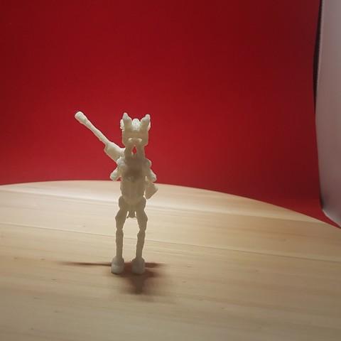 red robo back.jpg Download free OBJ file ROBO RED • 3D printing object, Josefbouzgarrou