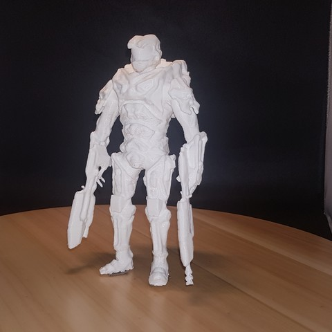 3D printing model Master chief, josefbouzgarrou