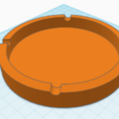 Download 3D printer files simple ashtray, selejanlau