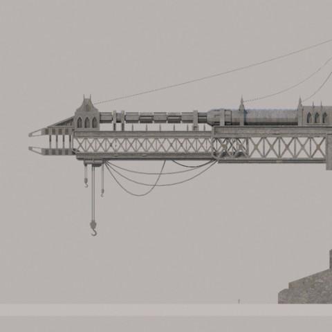 Warhammer 40k Crane
