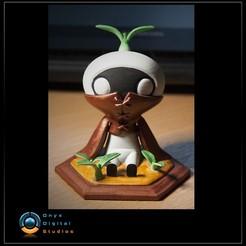 PaintedMandy_Squarejpg.jpg Download STL file Final Fantasy Mandragora - 2 poses • 3D print design, OnyxDigitalStudios