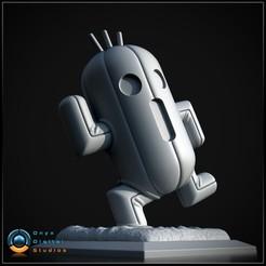 Descargar diseños 3D Cactuar GRATIS + Conductor de Cactuar, OnyxDigitalStudios