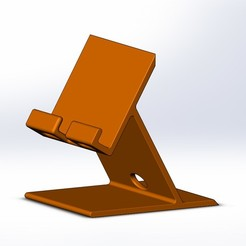 Support_tel2-.JPG Download free STL file phone holder • 3D printable design, vsevastr