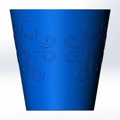 Télécharger fichier 3D gratuit Vase à pieuvre, vsevastr