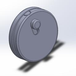 3D print files easy keychain, pierrouk