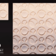 Download 3D printer templates Panel3d_chic_circles, DIEGOMAKER