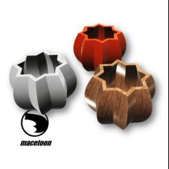 Imagen9.png Download STL file Pumpkin pot • 3D printer template, DIEGOMAKER