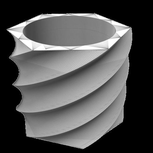 Download 3D print files Flowerpot_Tornado, DIEGOMAKER