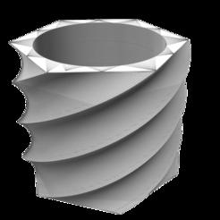 Descargar archivo 3D Maceta_Tornado, DIEGOMAKER