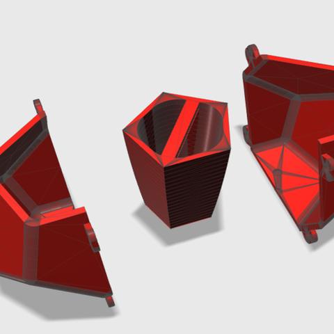 Imagen1.png Download STL file DODECAHEDRON_MATRIX_POT • 3D printer design, DIEGOMAKER