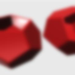 DODECAEDRO_STL.stl Download STL file DODECAHEDRON_MATRIX_POT • 3D printer design, DIEGOMAKER