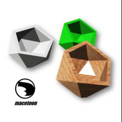 a.png Download STL file Sloping Pot • 3D printer template, DIEGOMAKER