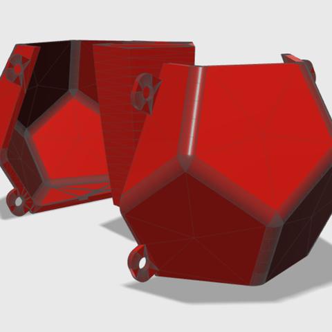 Imagen5.png Download STL file DODECAHEDRON_MATRIX_POT • 3D printer design, DIEGOMAKER