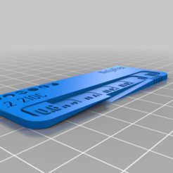 Télécharger objet 3D gratuit Swatch de filament NinjaFlex TPU (test de filament), bruckerm