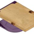 Télécharger fichier 3D gratuit Chariot à vaisselle sous étagère 190mm x 190mm x 78mm, bruckerm