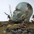 archivos stl Estatua Antigua - Muestra Gratis gratis, 3DHexes