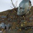 stl gratuit Statue Ancienne - Echantillon Gratuit, 3DHexes
