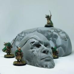 3d printer model Ancient Statue Bundle, 3DHexes