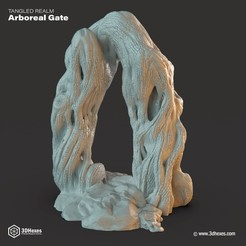 stl Arboreal Gate, 3DHexes