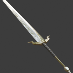 Bez názvu.png Download STL file Sword • 3D printing design, LeSkin