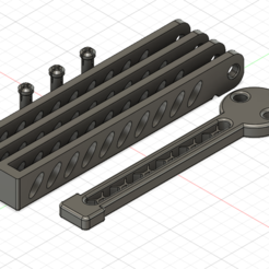 3d printer model Advanced Balisong Trainer, Serial