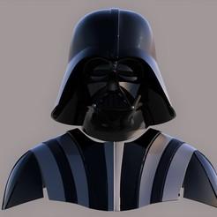 Download 3D printing templates Darth Vader ep 5 ESB for 3d print, darthasen