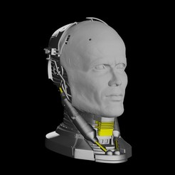 Download 3D printer designs Robocop Head for 3D Print, darthasen