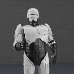 12.jpg Download STL file ROBOCOP STATUE FOR 3D PRINTING • Object to 3D print, darthasen