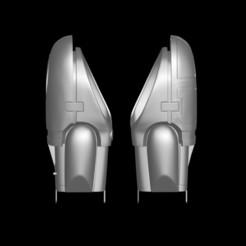 1.jpg Download OBJ file ROBOCOP SUIT GLOVES AND ARMS UPDATE Free 3D print model • Design to 3D print, darthasen