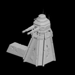 Download 3D printing models Battle Tower 3D Printable 3D print model, darthasen