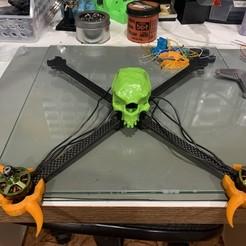 "IMG_2325.JPG Download STL file 7"" Toothpick Drone Frame • Design to 3D print, rodrigosclosa"