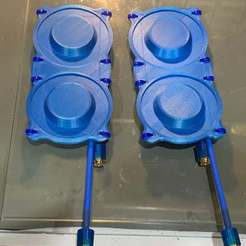 IMG_2214.JPG Télécharger fichier STL gratuit Lunettes DJI FPV Triple Feed Patch 4x Antennes Bracket • Objet à imprimer en 3D, rodrigosclosa