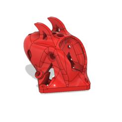 """Alien Toothpick Canopy Nano v267.png Download free STL file Alien Toothpick Canopy - For 3"""" Drones and above • 3D printable design, rodrigosclosa"""