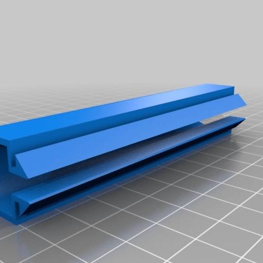 Download free STL file 100mm Cable Cover for 20x20 Aluminium Extrusion • 3D printing model, rodrigosclosa