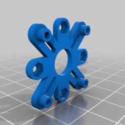 20mm_to_16mm_Adapter.png Download free STL file FPV Drone Mounting Board Adapters • 3D print design, rodrigosclosa