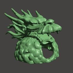 Capturar.JPG Download free STL file Dragon Toothpick Canopy - 3inch and above • 3D printable design, rodrigosclosa