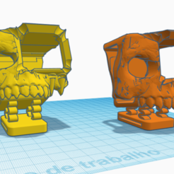 hero7.PNG Download free STL file GoPro Hero 6/7/8 Skull Soft Mount for Reelsteady Go! • 3D print template, rodrigosclosa