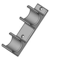 modelo stl gratis Clip para barra estabilizadora de tiro con arco, daztoni